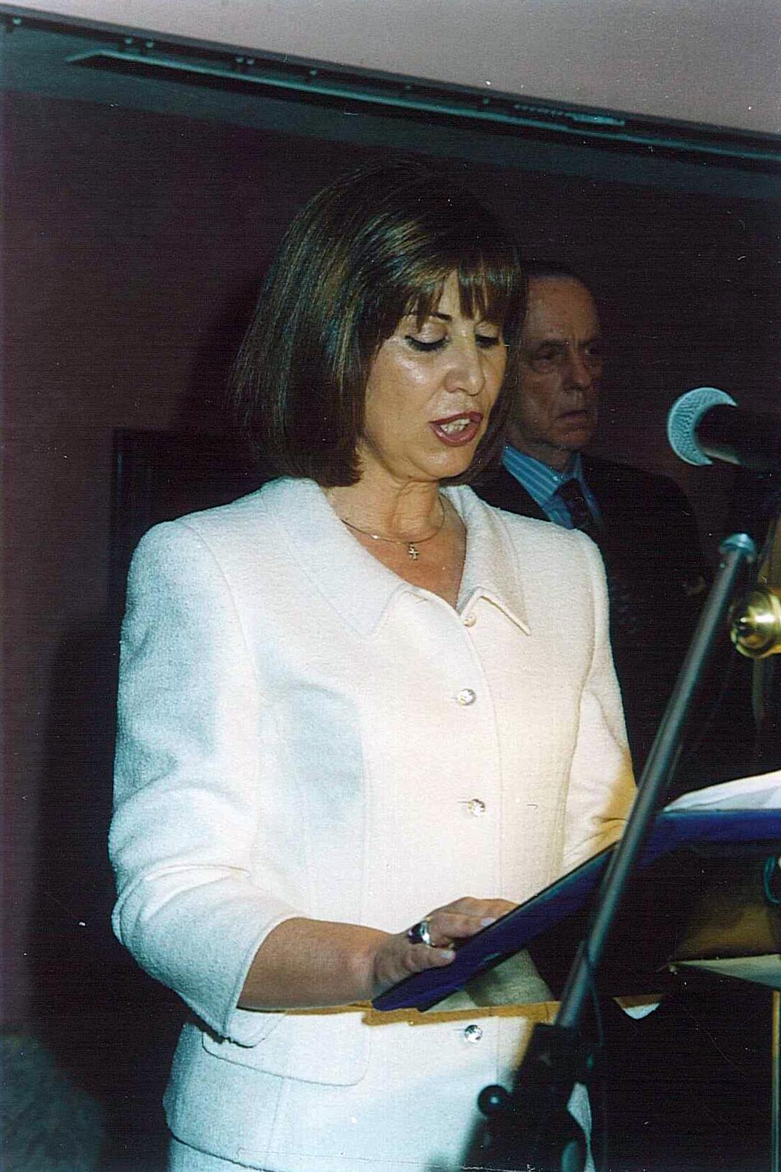 Dña. Blanca García Montenegro Presidenta de la Fundación CEL - Iniciativas por Lugo.