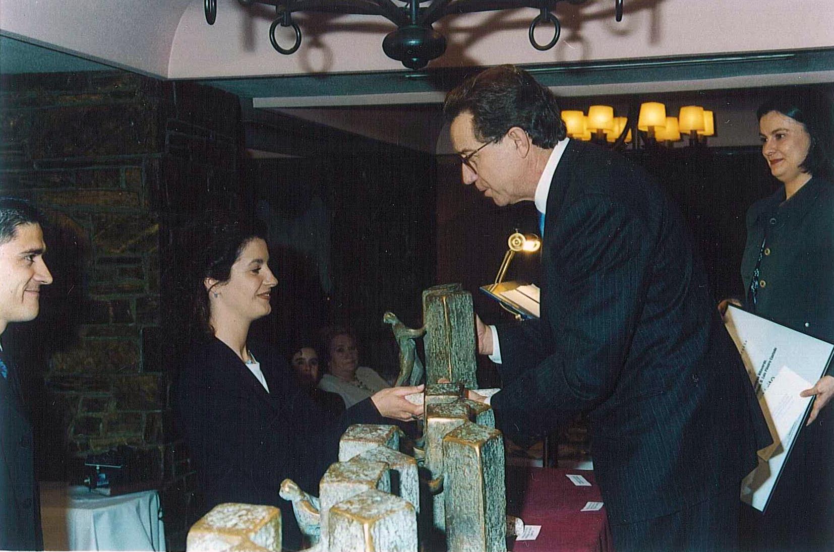 Ganador del Premio a Proyectos Universiarios de Creación de Empresas: Veiga de Sarria