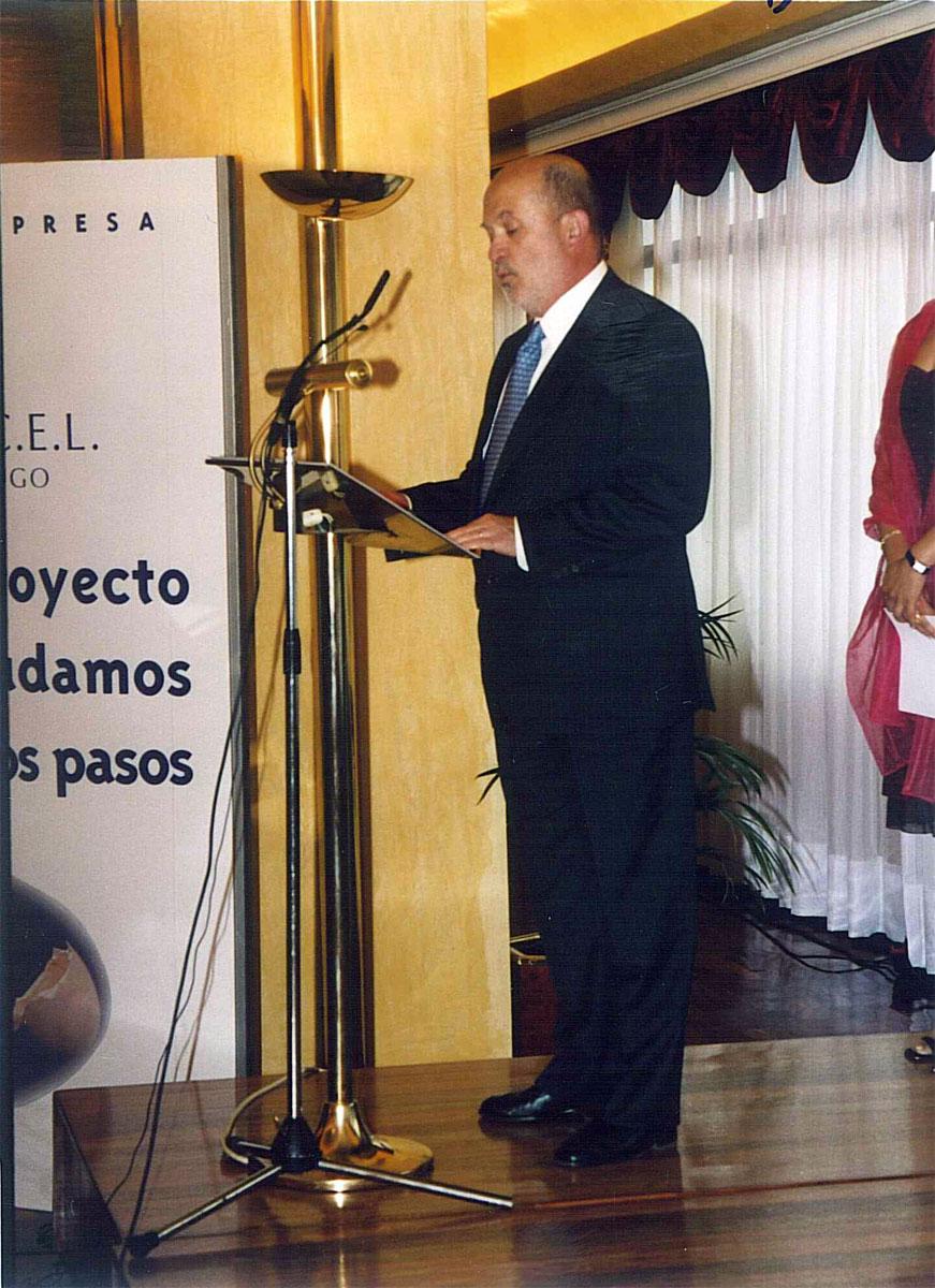D. Eduardo Jiménez, Presidente de la CEL.