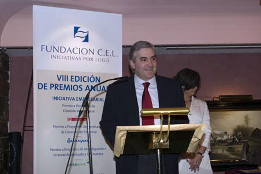Sr. D. Fernando Blanco Álvarez, Conselleiro de Innovación e Industria da Xunta de Galicia.