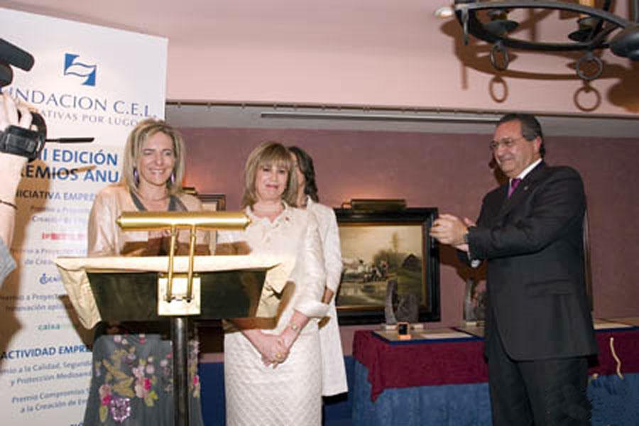 Dña. Lourdes Pardo Rodríguez, Secretaria de la Fundación CEL - Iniciativas por Lugo.