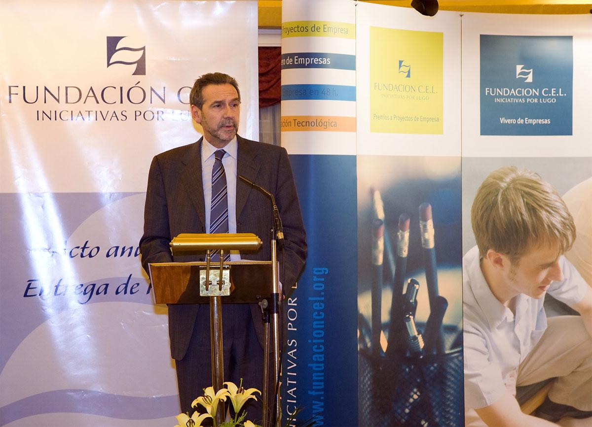 Sr. D. José Ramón Fernández Antonio, Conselleiro de Economía e Facenda de la Xunta de Galicia.