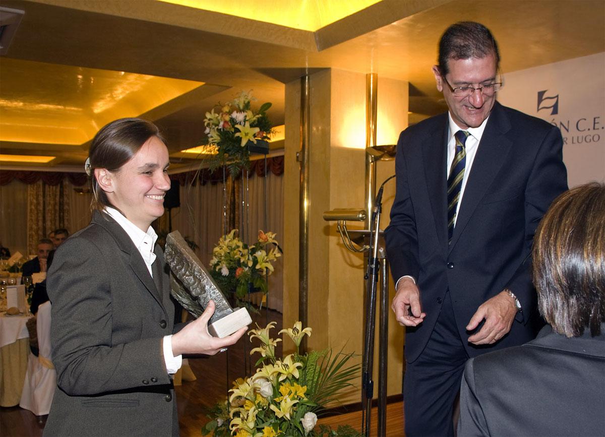 Ganador del Premio a Proyectos de Investigación e Innovación Aplicada a la Empresa: Obtención de un material fertilizante a partir de restos verdes y otros subproductos.