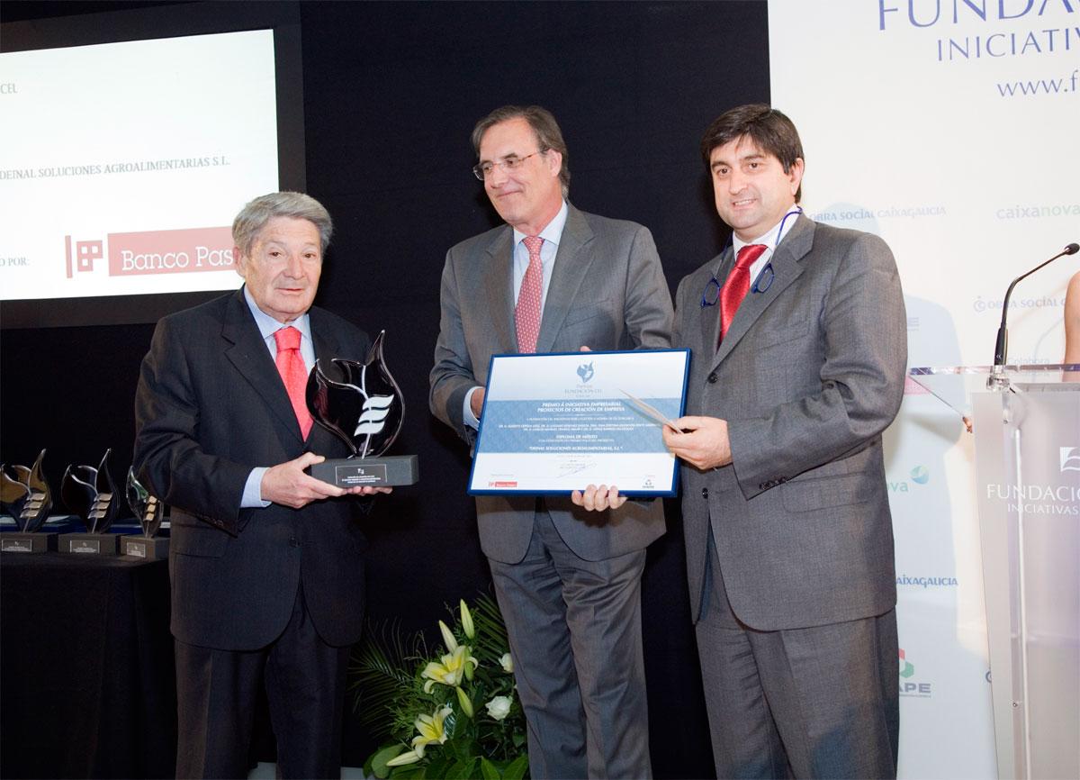 Ganador del Premio a Proyectos de Creación de Empresa: Deinal Soluciones Agroalimentarias, S.L.