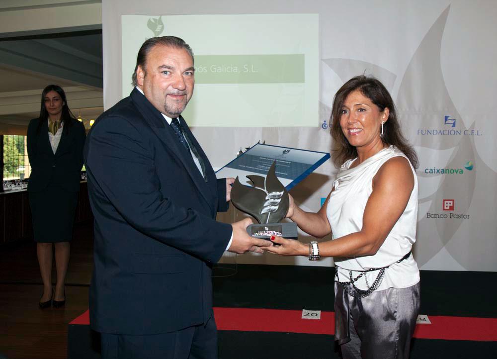 Ganador del Premio a Calidad, Seguridad Industrial y Protección Medioambiental: Alibós Galicia, S.L.