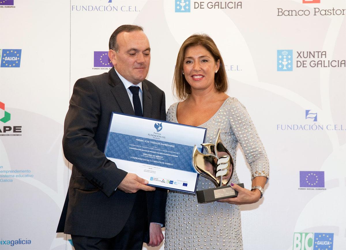 Ganador Premio al Compromiso Social a la Creación de Empleo : Confederación Gallega de Personas con Discapacidad (COGAMI).