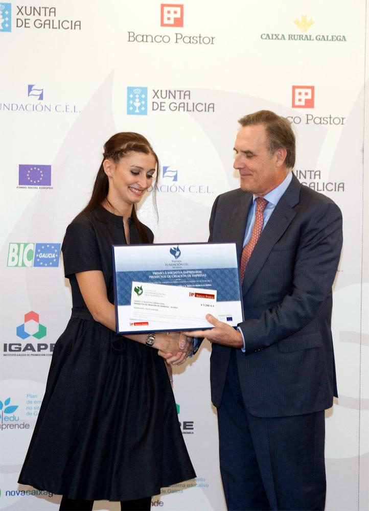 Accésit del Premio a Proyectos de Creación de Empresa: Aeiraland S.L.