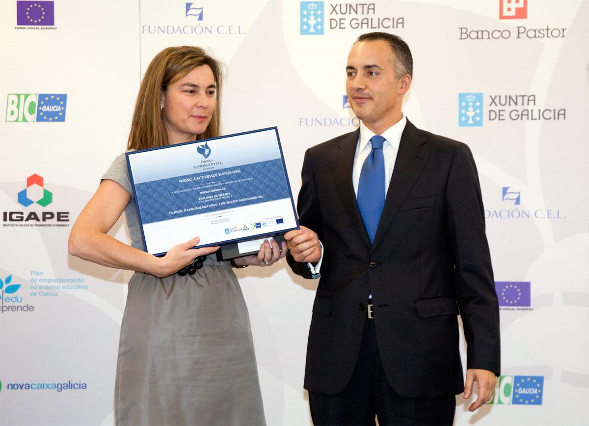 Ganador Premio a la Calidad, Seguridad Industrial y Protección Medioambiental: Muebles Hermida S.L.