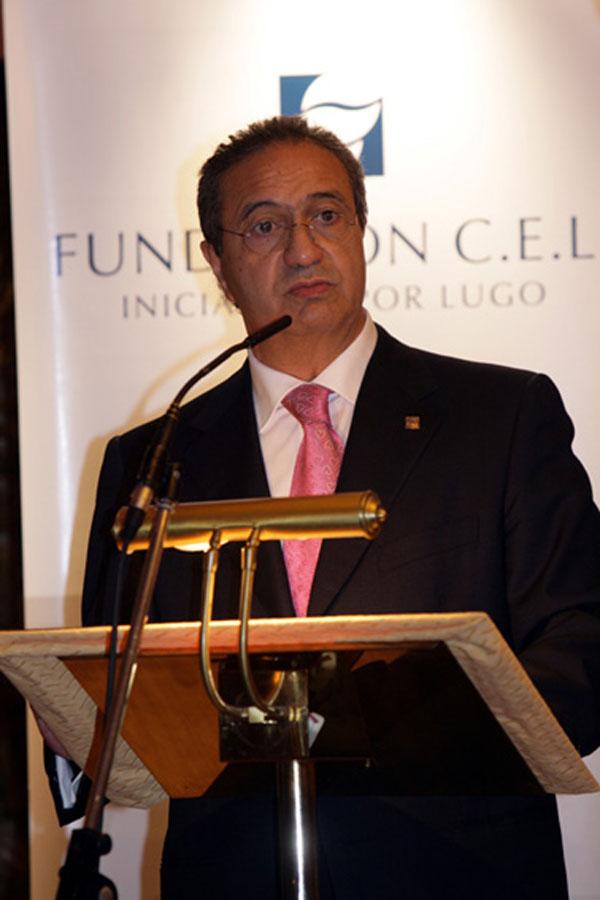 D. Guillermo Sánchez Vilariño, Presidente Fundación CEL - Iniciativas por Lugo.