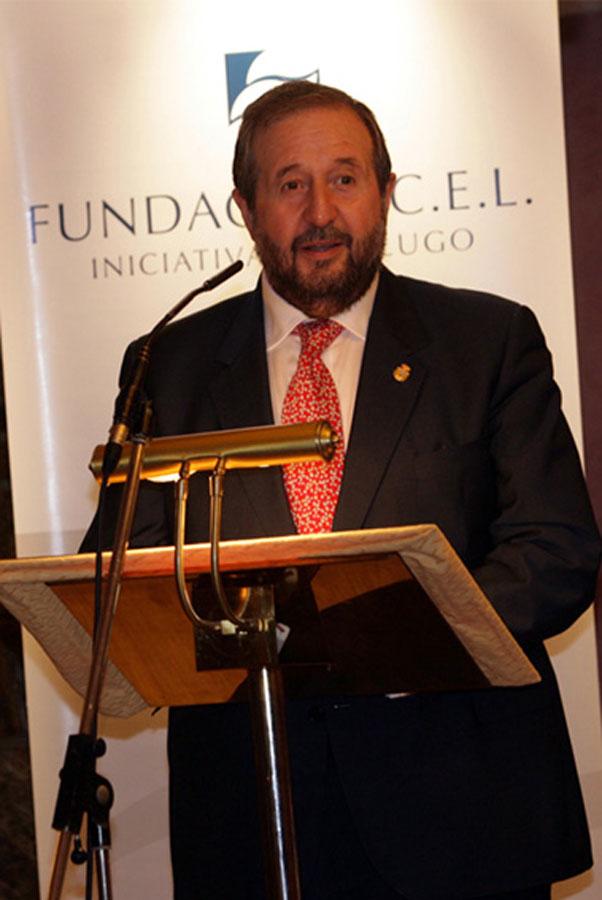 Excmo. Sr. D. José Clemente López Orozco, Alcalde del Ayuntamiento de Lugo.