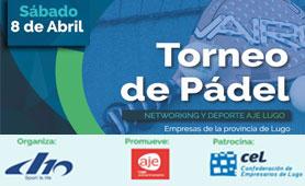 Primer Torneo de Padel para Empresas de la Provinicia de Lugo. En Boletín de Noticias para Emprendedores de la Fundación CEL - Iniciativas por Lugo