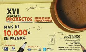 XVI Concurso de Poryectos Empresariales. En Boletín de Noticias para Emprendedores de la Fundación CEL - Iniciativas por Lugo