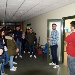 Visita de Alumnos del 3º curso de ADE