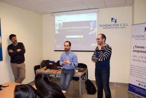 Visita Programa Atrévete del IES Muralla Romana a la Fundación CEL