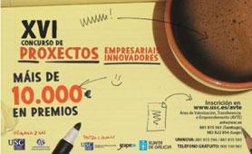 XVI Concurso DE Proyectos Empresariales de la USC. En Boletín de Noticias para Emprendedores de la Fundación CEL - Inciativas por Lugo