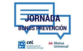 Jornada Bonus Prevención en Boletín de Noticias para Emprendedores de la Fundación CEL - Iniciativas por Lugo