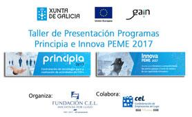 Taller Presentación Programa Innova PEME 2017