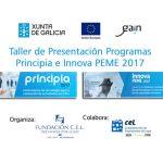 Taller Presentación Programa Innova PEME 2017.