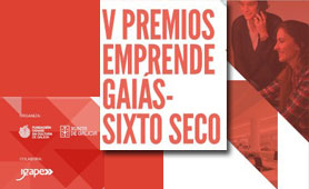 Premios Emprende GAIÁS - SIXTO SECO. En Boletín de Noticias para Emprendedores de la Fundación CEL - Iniciativas por Lugo