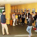 Visita al Vivero de Jóvenes del Concello de Outeiro de Rei
