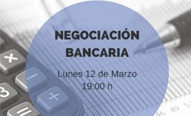 Recordatorio: Taller Negociación Bancaria