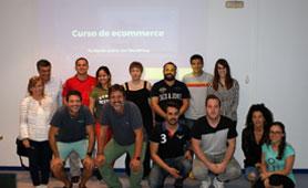 Curso de E-Commerce en la Fundación CEL septiembre 2018
