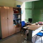 Interior oficina servicios técnicos Fundación CEL