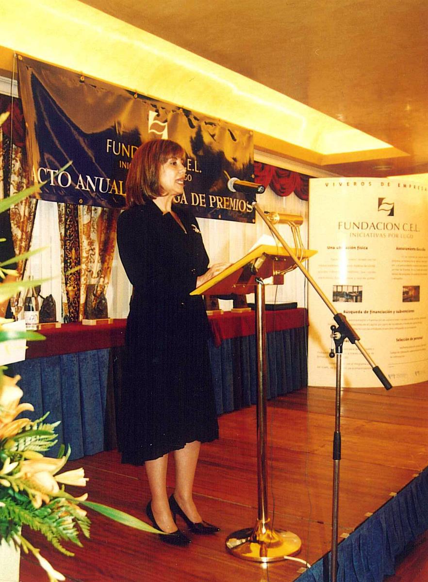 Dña. Blanca García Montenegro, Presidenta de la Fundación CEL - Iniciativas por Lugo.