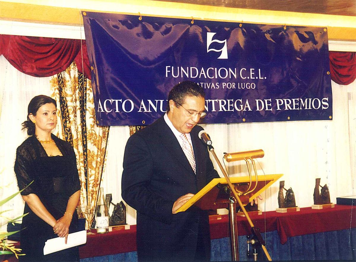D. Guillermo Sánchez Vilariño, Vicepresidente 1º de la Fundación CEL - Iniciativas por Lugo.
