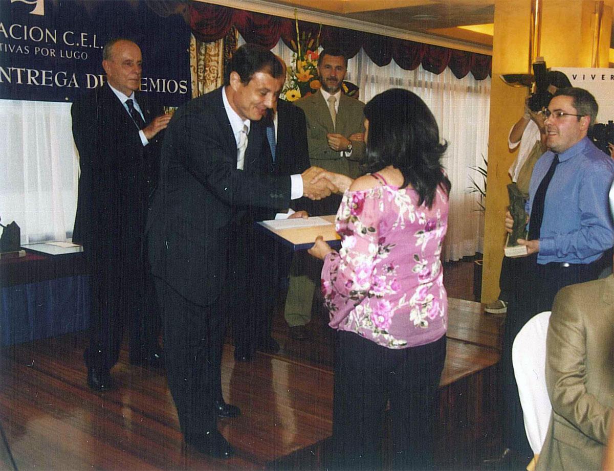 Ganador del Premio a Proyectos de Creación de Empresas: Pazo de Orbán, S.L.
