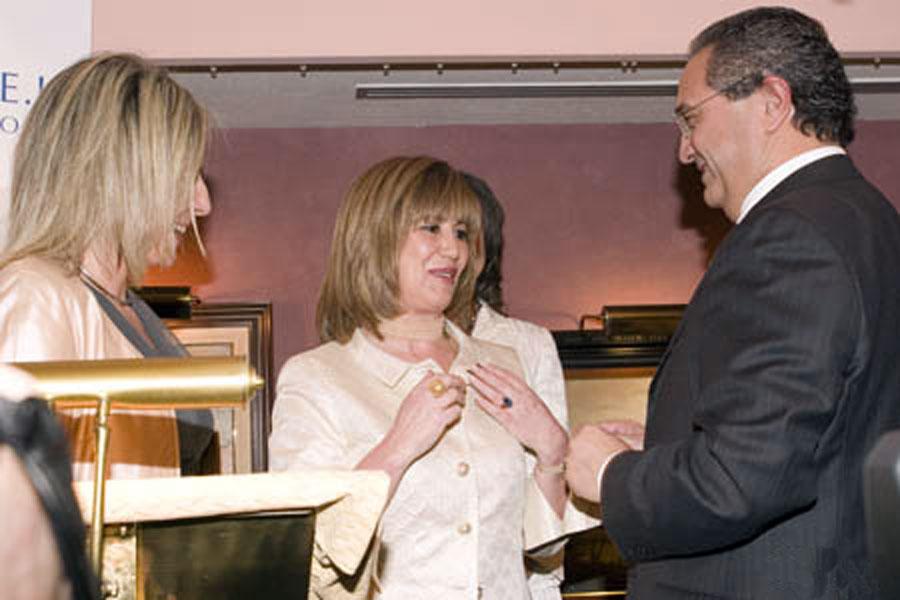Dña. Blanca García Montenegro, Presidenta Honorífica de la Fundación CEL - Iniciativas por Lugo.
