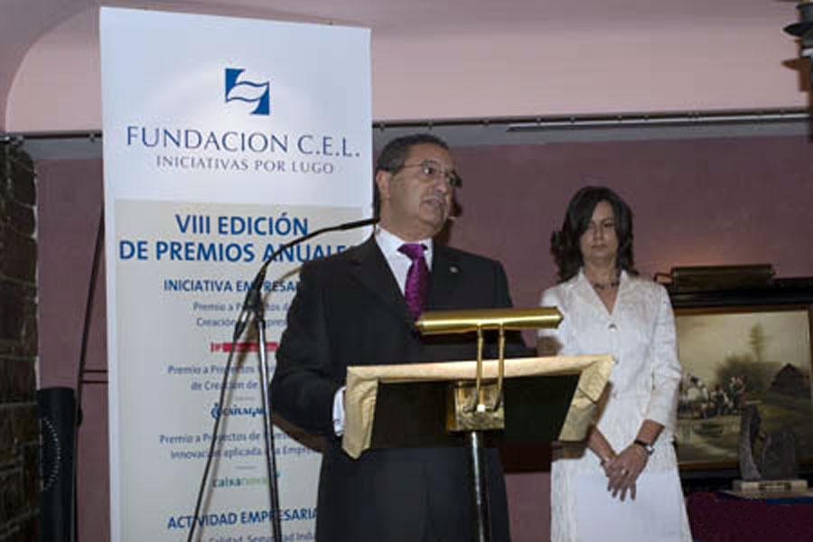 D. Guillermo Sánchez Vilariño, Presidente de la Fundación CEL - Iniciativas por Lugo.