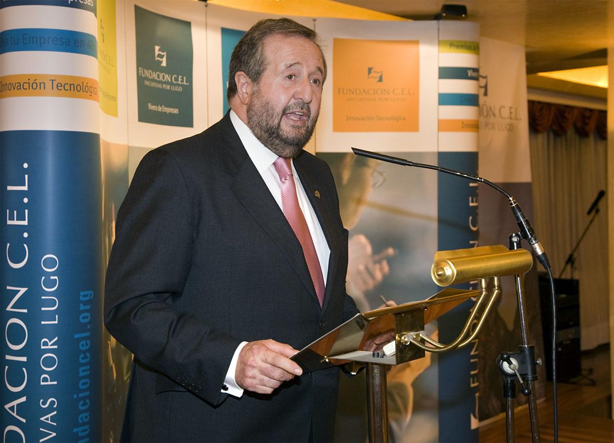 Excmo. Sr. D. José Clemente López Orozco, Alcalde del Concello de Lugo.