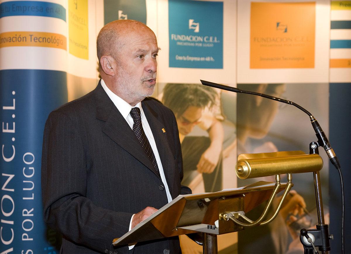 D. Eduardo Jiménez Domínguez, Presidente de la CEL.