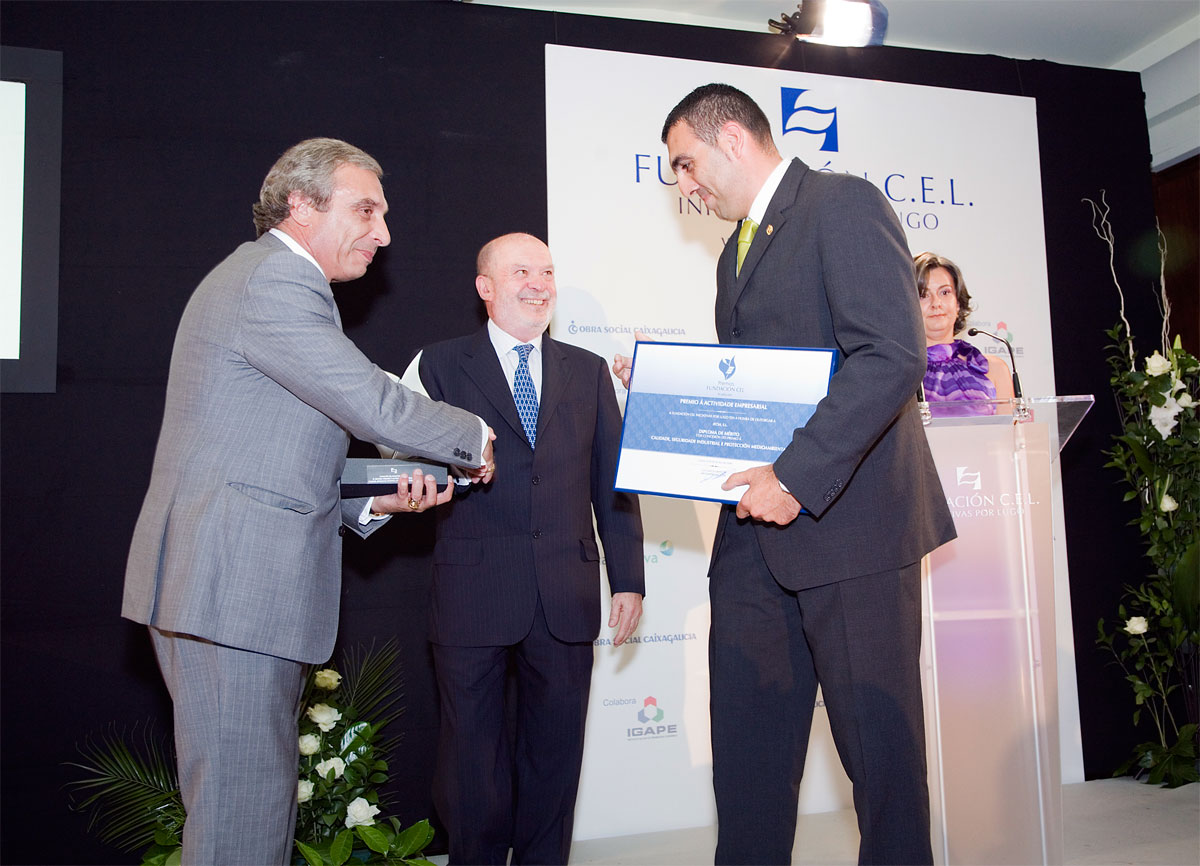 Ganador del Premio a la Calidad, Seguridad Industrial y Protección Medioambiental: Jecsa, S.L.