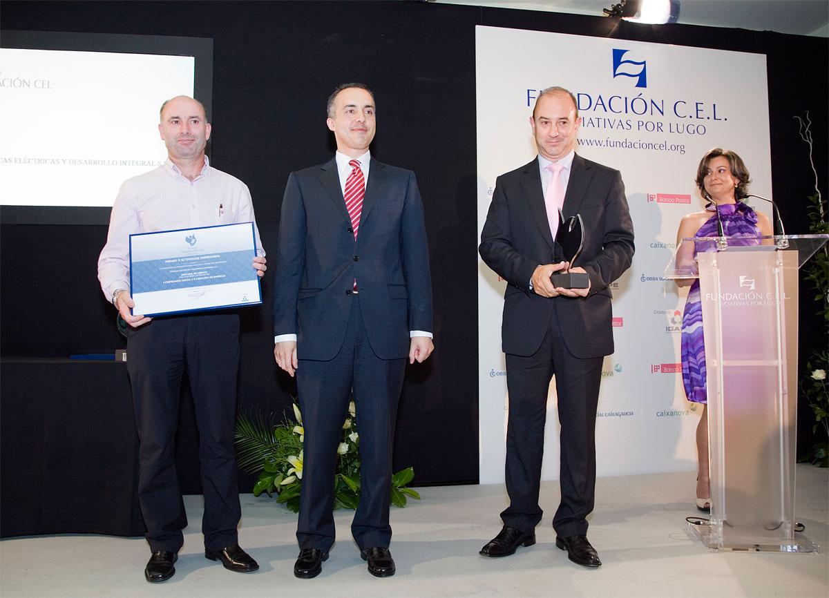 Ganador del Premio al Compromiso Social y a la Creación de Empleo: Técnicas Eléctricas y Desarrollo Integral, S.L.