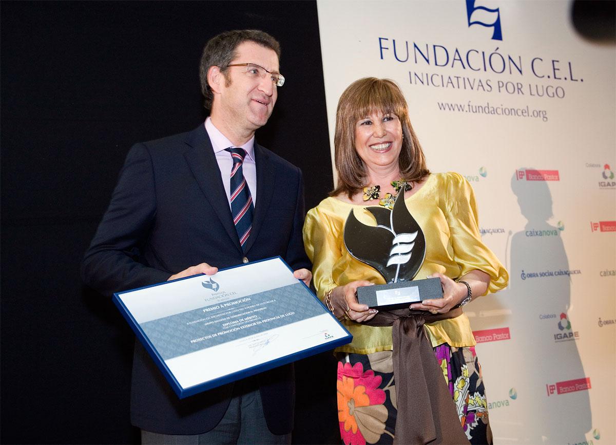 Ganador del Premio a la Promoción Exterior de la Provincia de Lugo: Grupo Galego de Comunicación El Progreso, S.L.