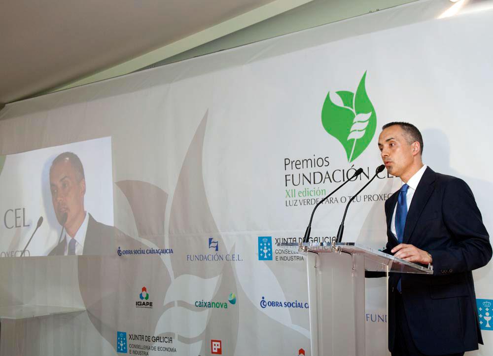 D. Luis García Santalla, Presidente de la Fundación CEL - Iniciativas por Lugo.