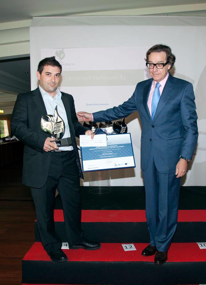 Ganador del Premio a Proyectos Universitarios de Creación de Empresa: Litriumtech Hardware S.L.