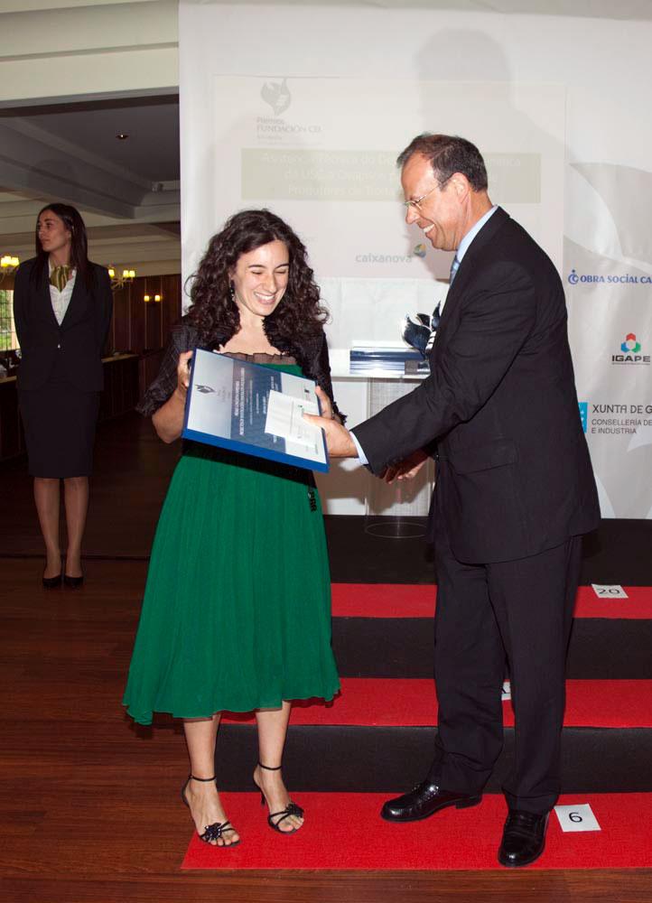 Ganador del Premio a Proyectos de Investigación e Innovación Aplicada a Empresa: Producción y caracterización de Echinace Purpurea Moench bajo distintos métodos de control de adventicias de Galicia.