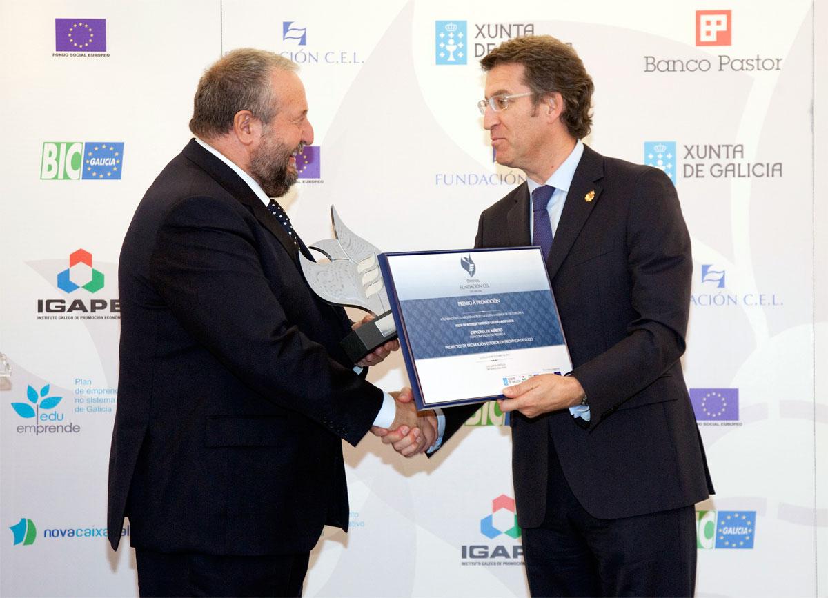 Ganador del Premio a Proyectos de Promoción Exterior de la Provincia de Lugo: Arde Lucus.