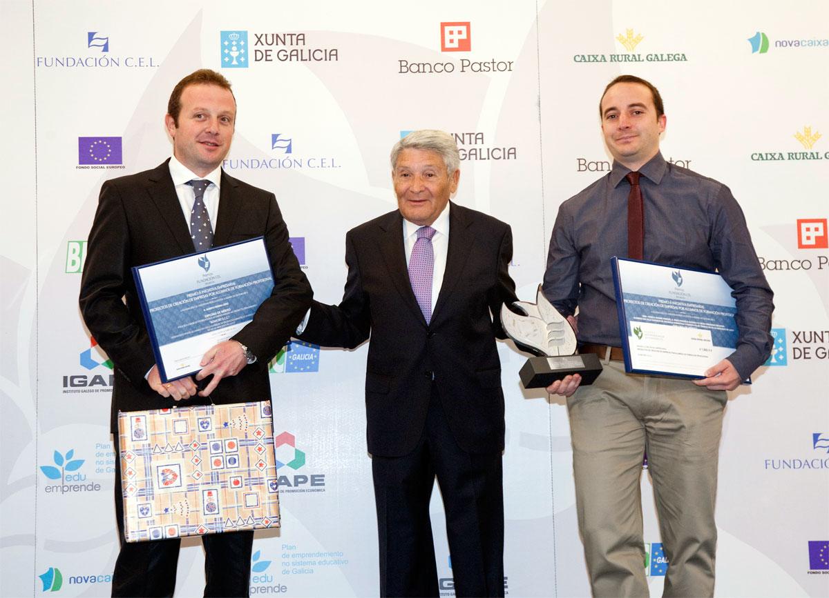 Ganador Premio a Proyectos de Creación de Empresas de Alumnos de Formación Profesional : Konfot S.C.G.