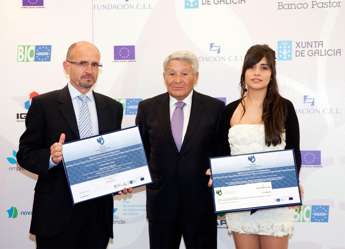Accésit Premio a Proyectos de Creación de Empresas de Alumnos de Formación Profesional : Anjesa Educación y Salud S.C.G.