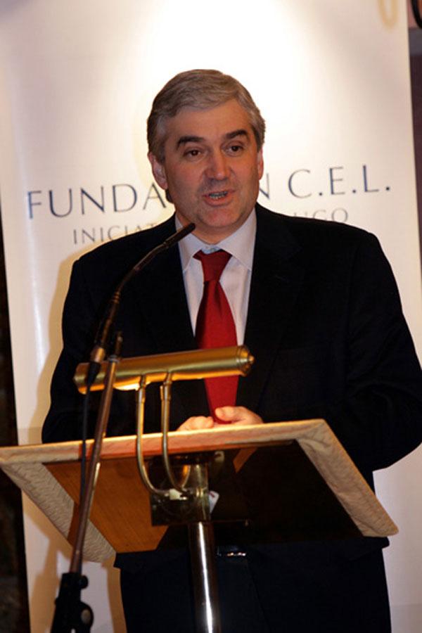 Sr. D. Fernando Blanco Álvarez, Conselleiro de Innovación e Industria de la Xunta de Galicia.